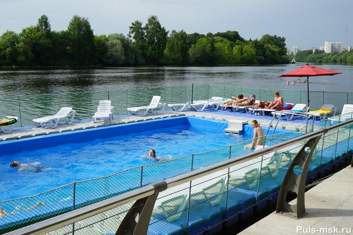 Открытый бассейн в Филях