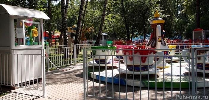 В измайловском парке