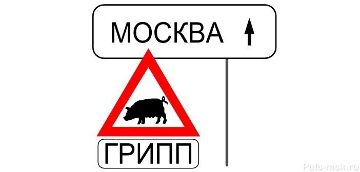 Свиной грипп в Москве