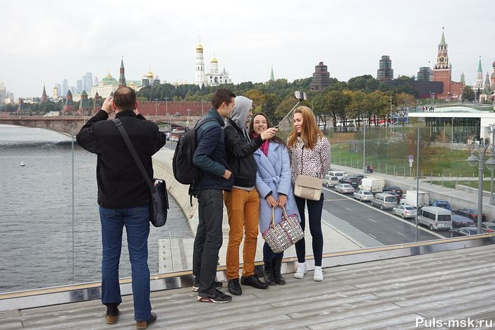 Панорамный вид на Москву