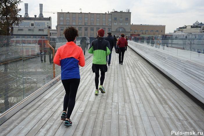 Фитнесс на Парящем мосту